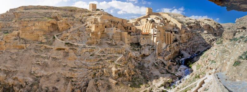 以色列-约旦河西岸-伯利恒-希腊修道院圣洁拉夫拉S 免版税库存照片