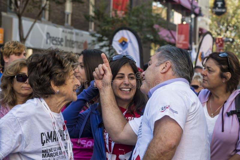 以记念罗恩Farha HIVAIDS活动家 库存图片