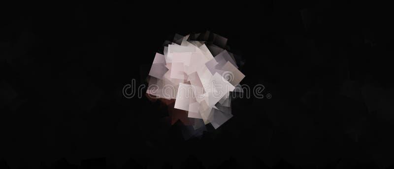 以许多立方体的形式球 皇族释放例证