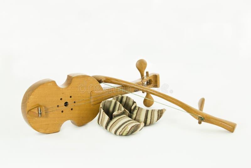 仪器音乐会rebec 图库摄影