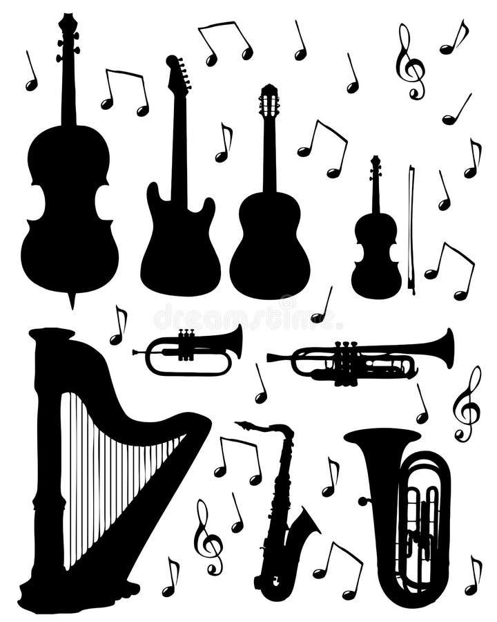 仪器音乐 免版税图库摄影