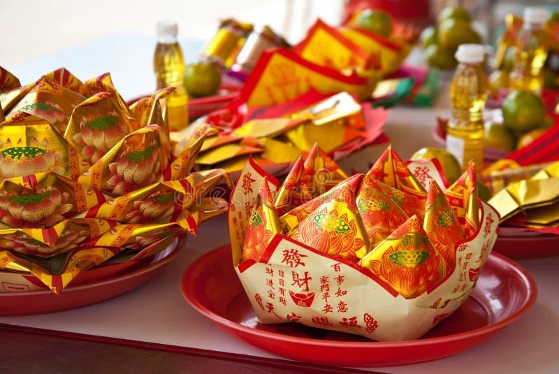 仪式中国人葬礼 库存照片