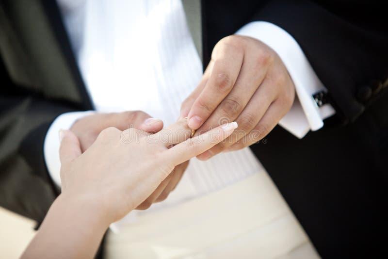 仪式婚姻 图库摄影