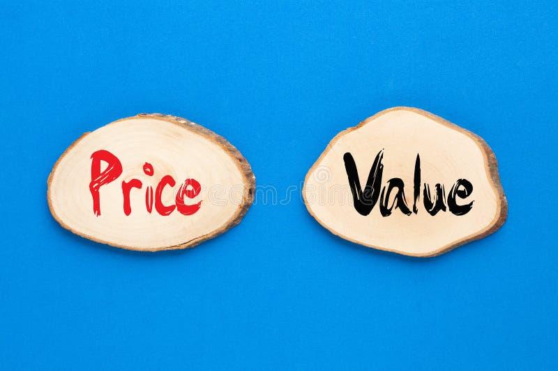 价格价值概念 图库摄影