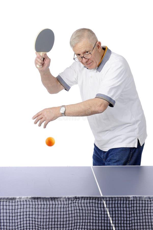 任何人乒乓切换技术 库存图片