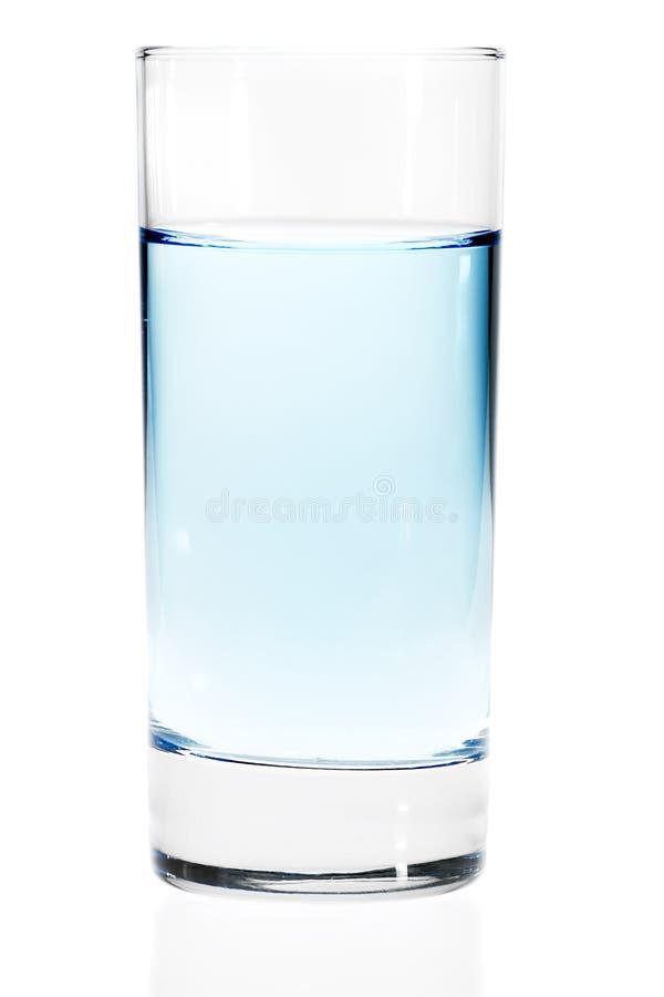 任何蓝色玻璃轻的液体其他水 图库摄影