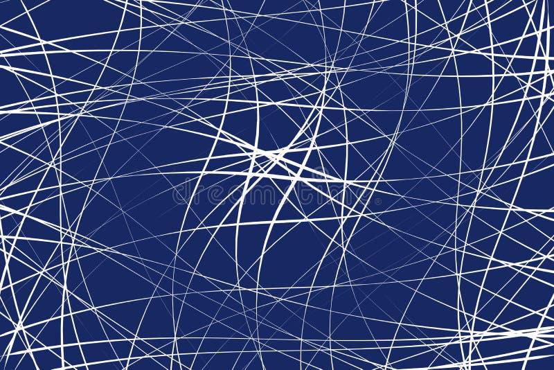 任意混乱线提取几何样式/纹理 moder 向量例证