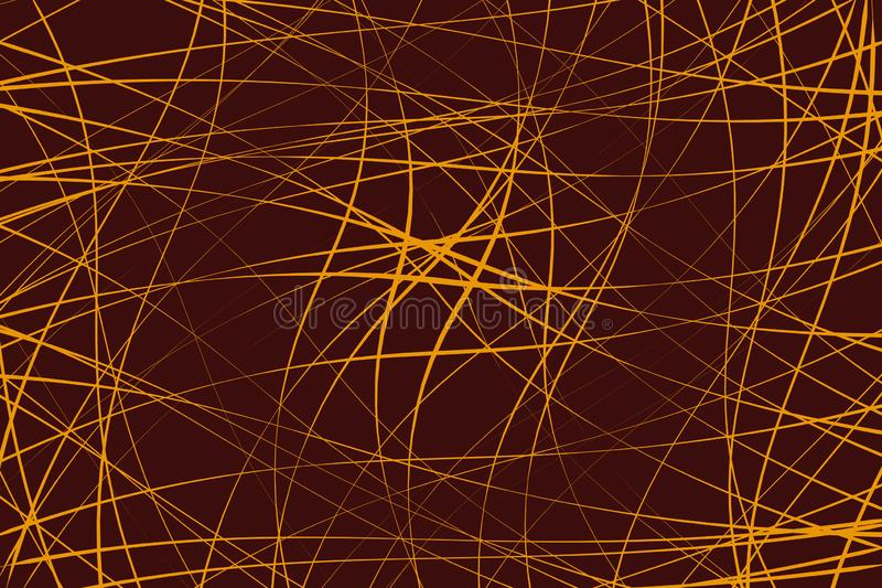 任意混乱线提取几何样式/纹理 moder 库存例证