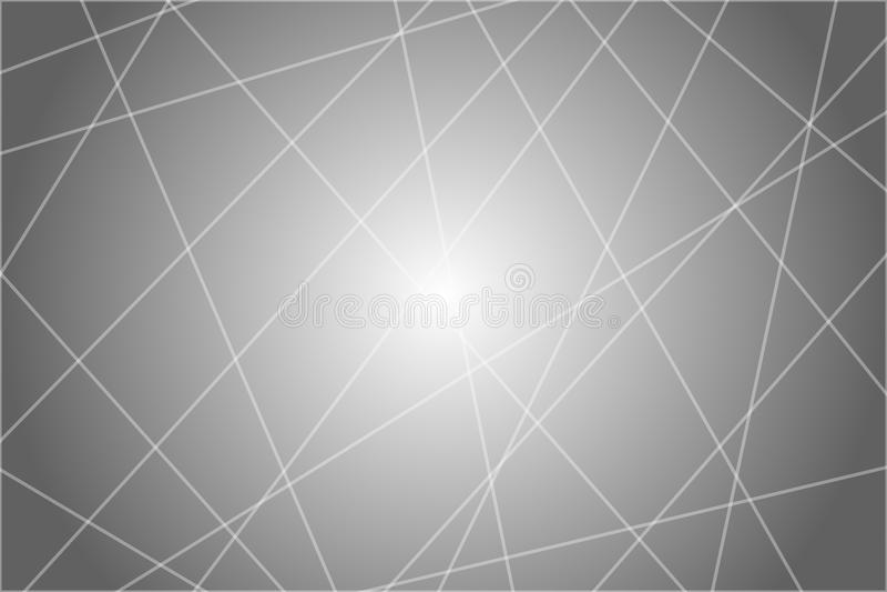 任意混乱线摘要几何样式纹理 现代,当代象艺术的例证 库存例证