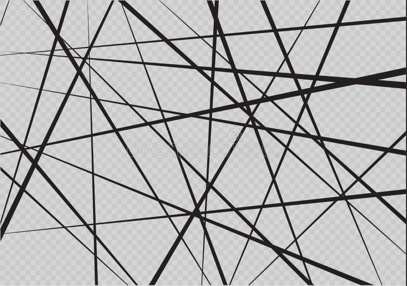 任意混乱线摘要几何样式 向量背景 能用于盖子设计,书设计,海报 皇族释放例证