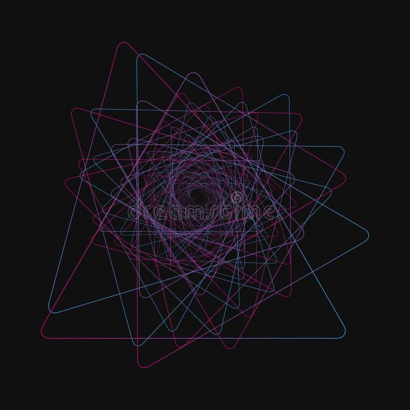 任意混乱线那creat真正的形状 混乱样式,抽象纹理 命令对混乱概念 向量例证