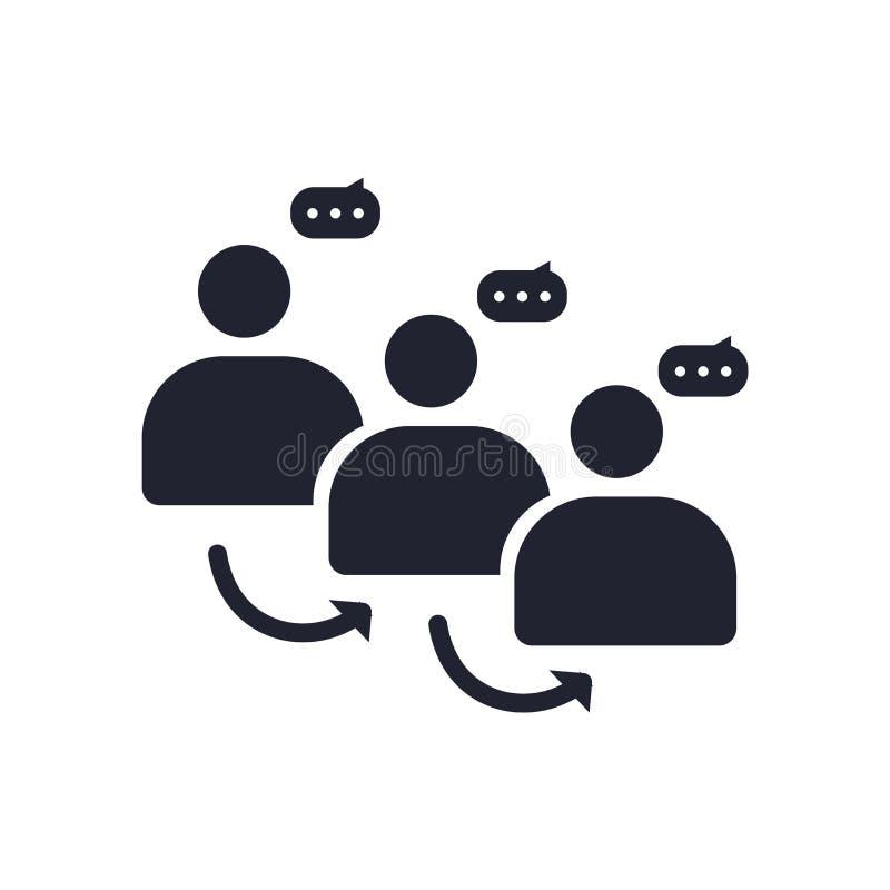 份额象在白色背景和标志隔绝的传染媒介标志,份额商标概念 向量例证