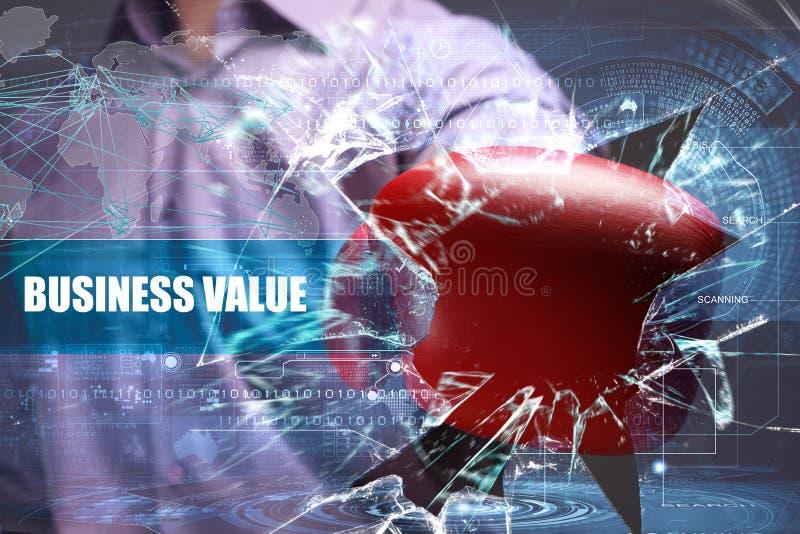 企业、技术、互联网和网络安全 事务VA 免版税图库摄影