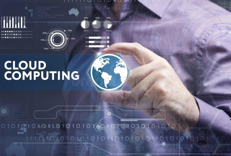 企业、技术、互联网和网络概念 年轻busine 库存图片