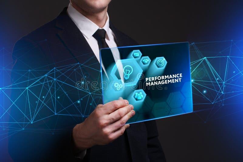 企业、技术、互联网和网络概念 年轻busine 向量例证