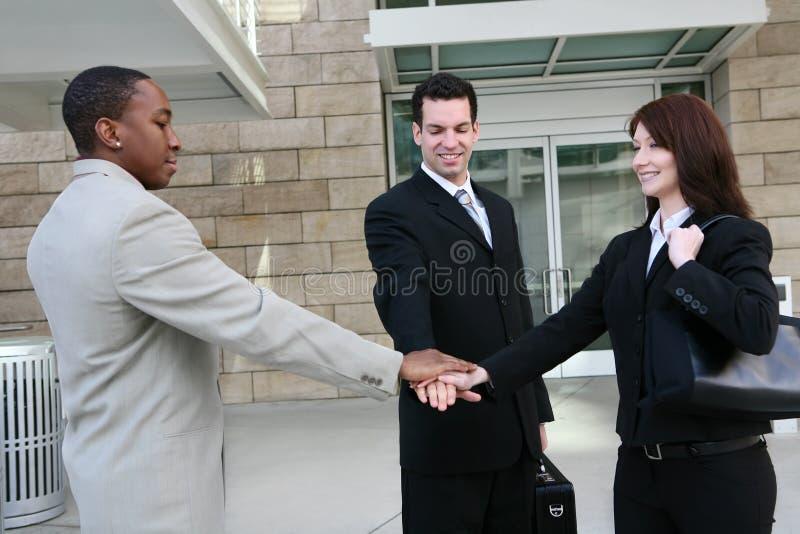 企业不同的办公室小组 库存照片