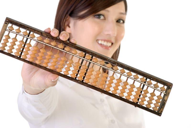 企业中国人妇女 免版税图库摄影