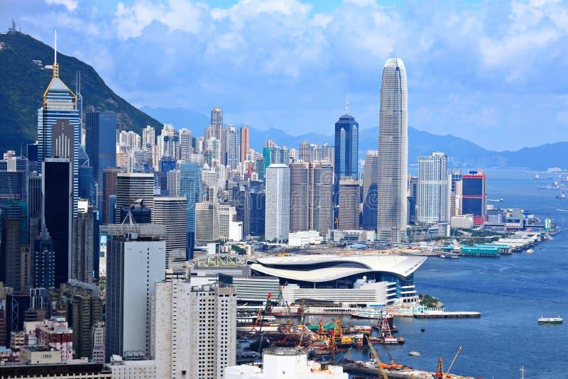 企业中央地区香港 库存照片