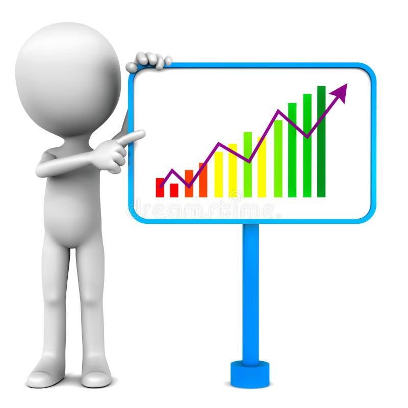 企业介绍 向量例证