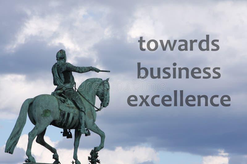 企业优秀 皇族释放例证