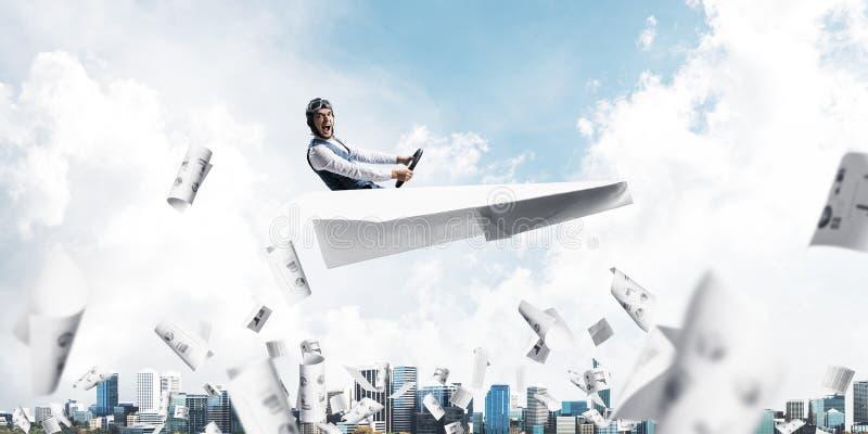 企业会计和统计概念 免版税库存照片