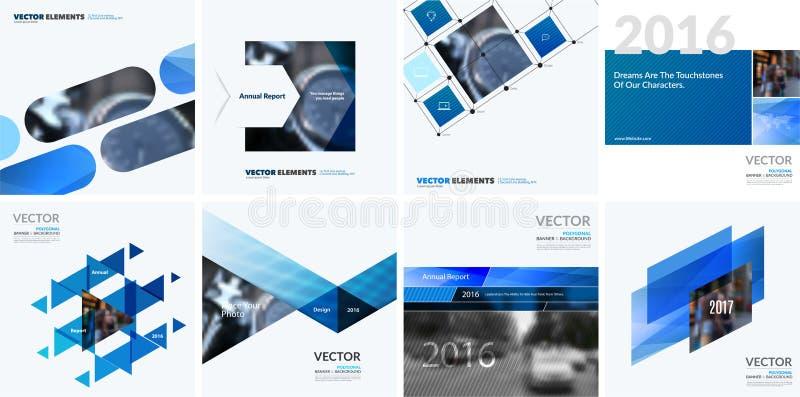 企业传染媒介图表布局的设计元素 现代摘要 向量例证