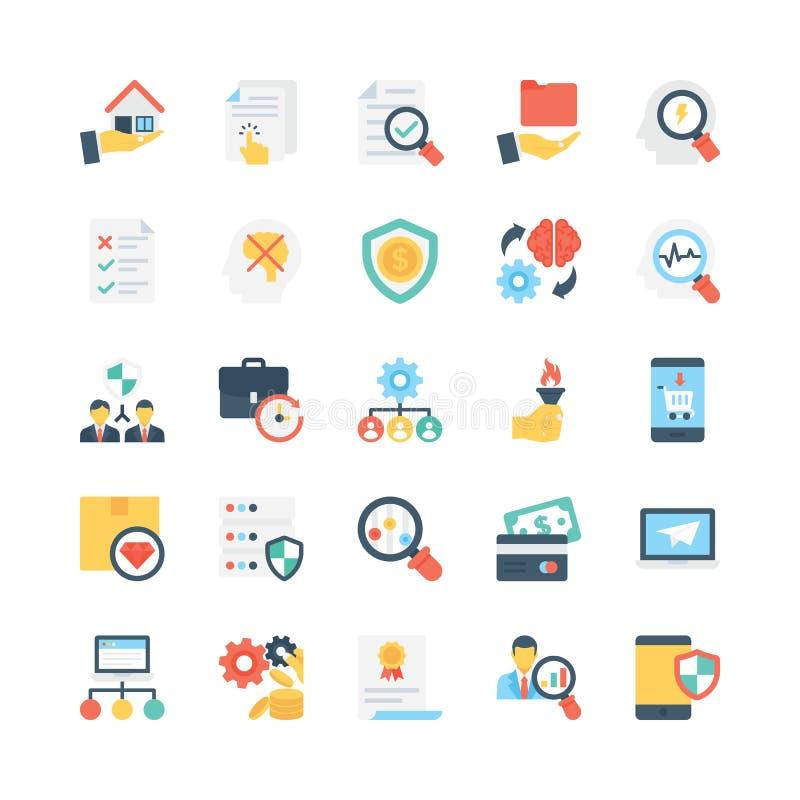 企业传染媒介象12 向量例证