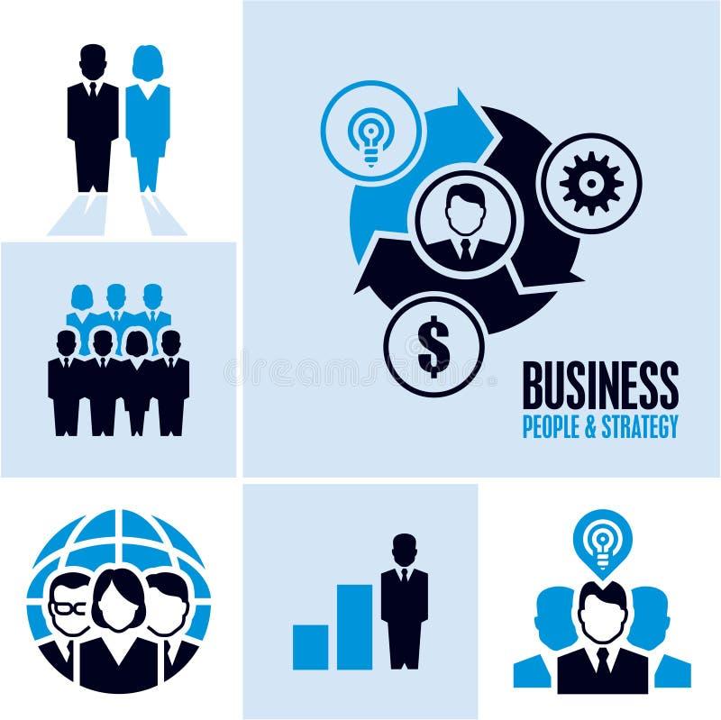企业例证JPG人向量 ai企业cs2 eps图标包括 库存例证