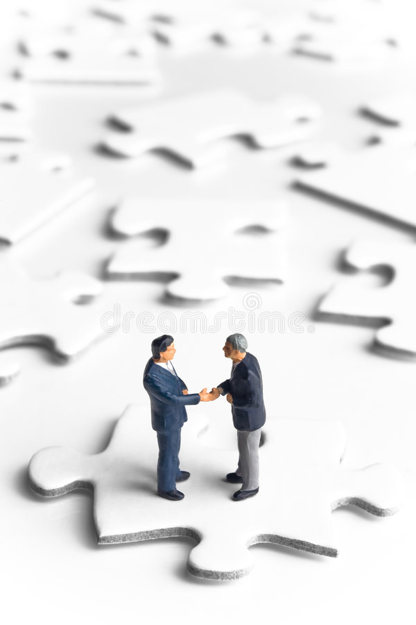 企业信号交换解决方法 免版税库存图片