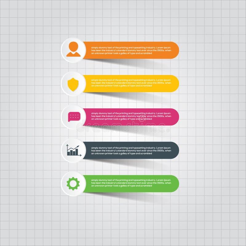 企业元素贴纸 免版税图库摄影