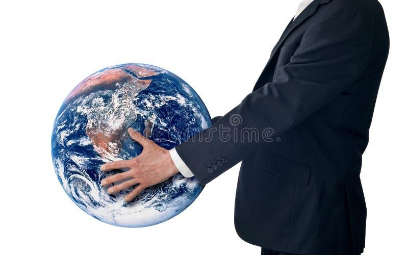 企业全球销售方针成功 免版税库存照片