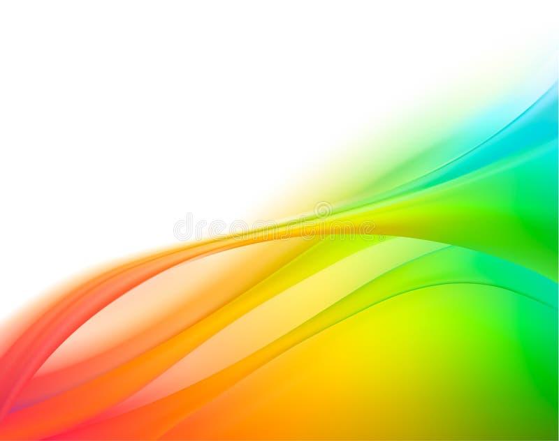 企业典雅的五颜六色的抽象背景 库存例证