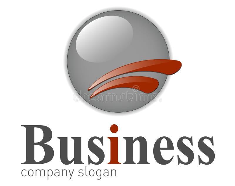 企业典雅的徽标 皇族释放例证
