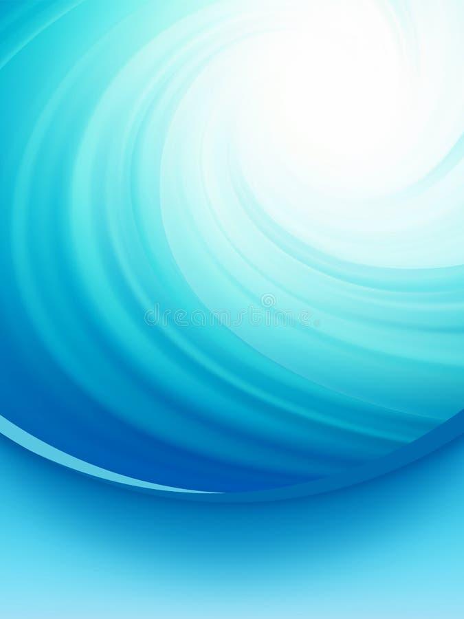 企业典雅的蓝色抽象背景。   库存例证