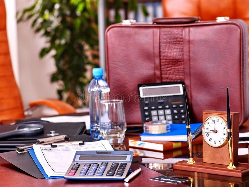 企业内部在办公室 免版税库存照片