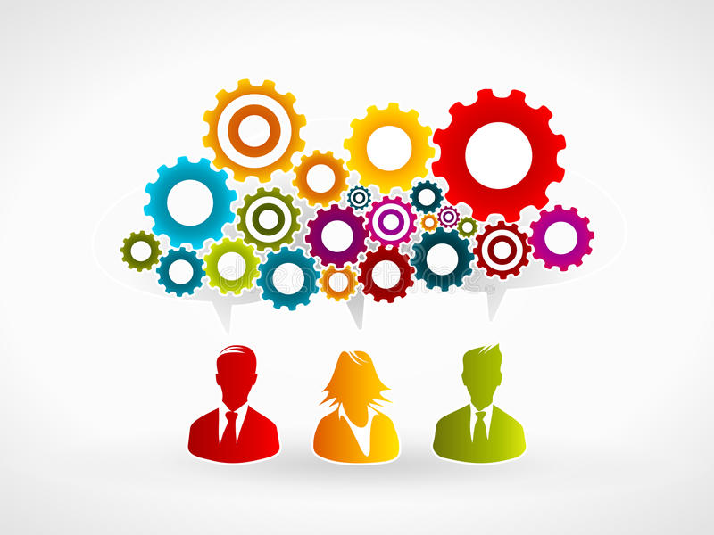 企业创新 库存例证