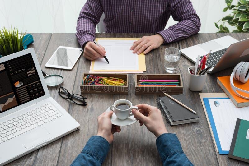 企业创造性的小组 库存照片