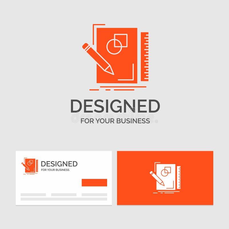 企业剪影的商标模板,速写,设计,凹道,几何 r 向量例证