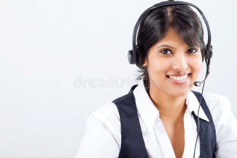 企业印地安人妇女 免版税库存照片