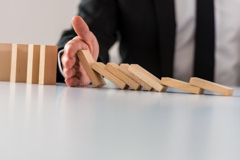 企业危机解答概念 免版税图库摄影