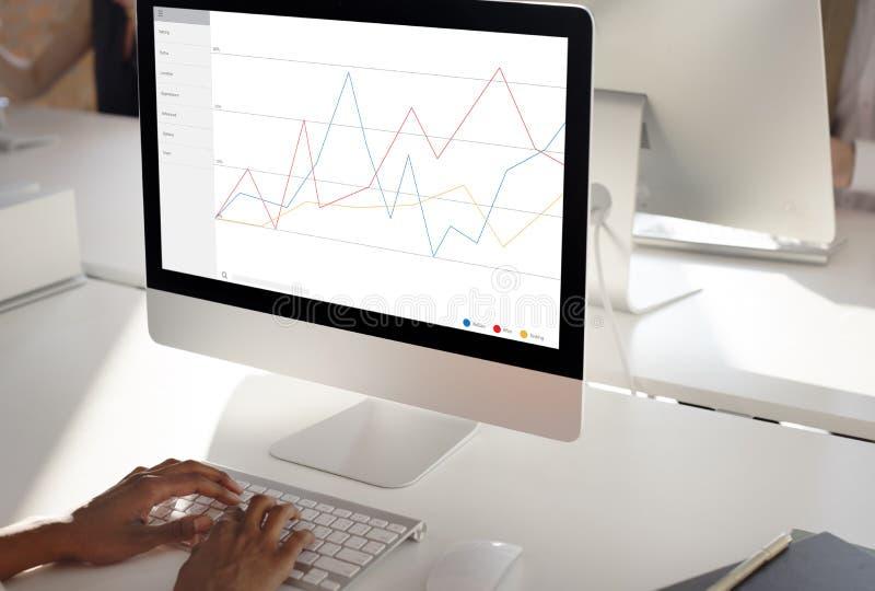 企业反馈结果回顾调查概念 免版税库存图片
