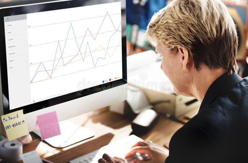 企业反馈结果回顾调查概念 库存照片