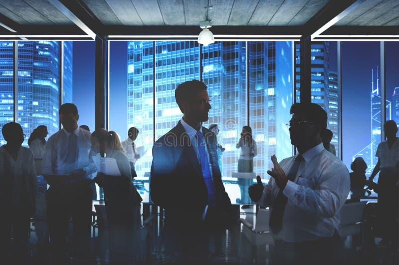 企业合作公司同事伙伴概念 免版税库存图片