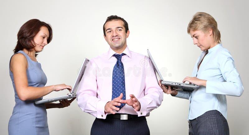 企业同事 免版税库存图片