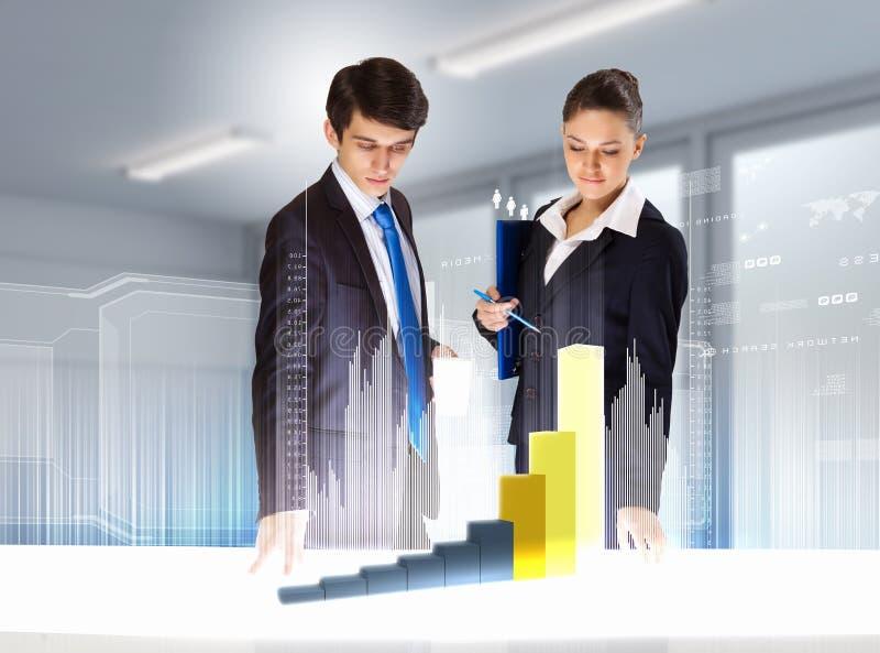 企业和创新技术 免版税图库摄影