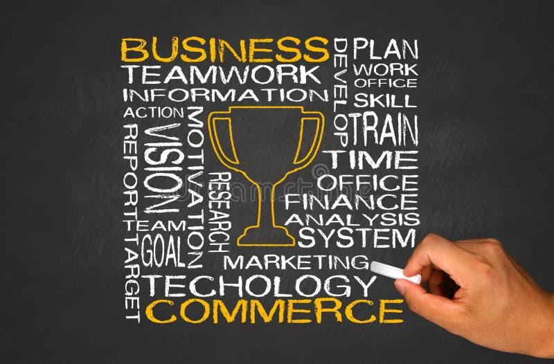企业和商务概念 库存照片