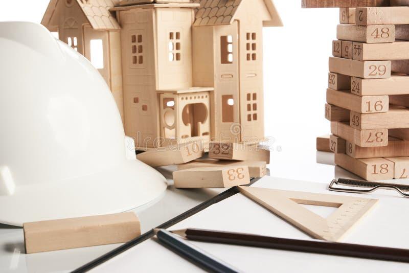 企业和建筑概念 图库摄影
