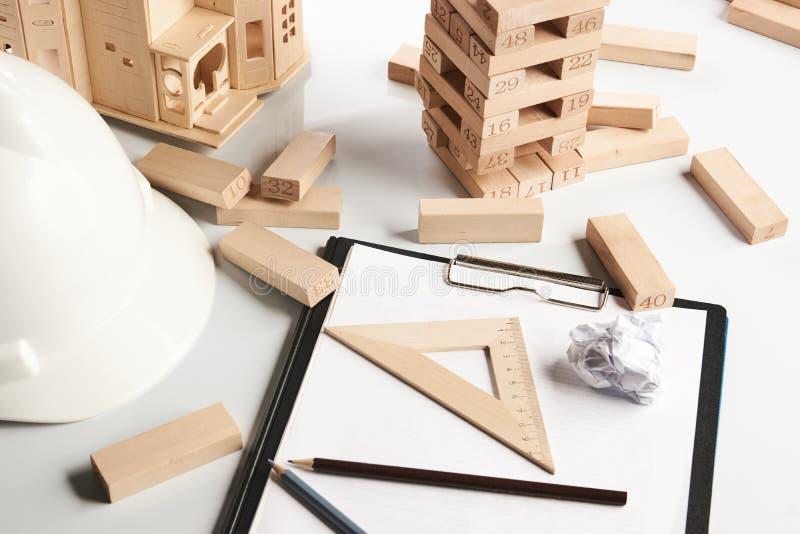 企业和建筑概念 免版税图库摄影