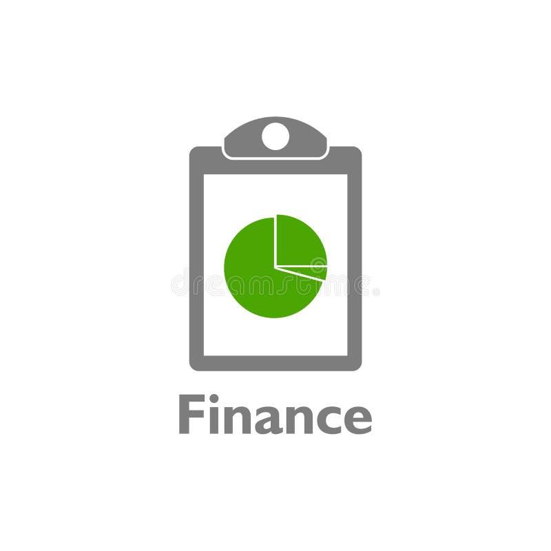 企业和财务商标,象,标志 皇族释放例证
