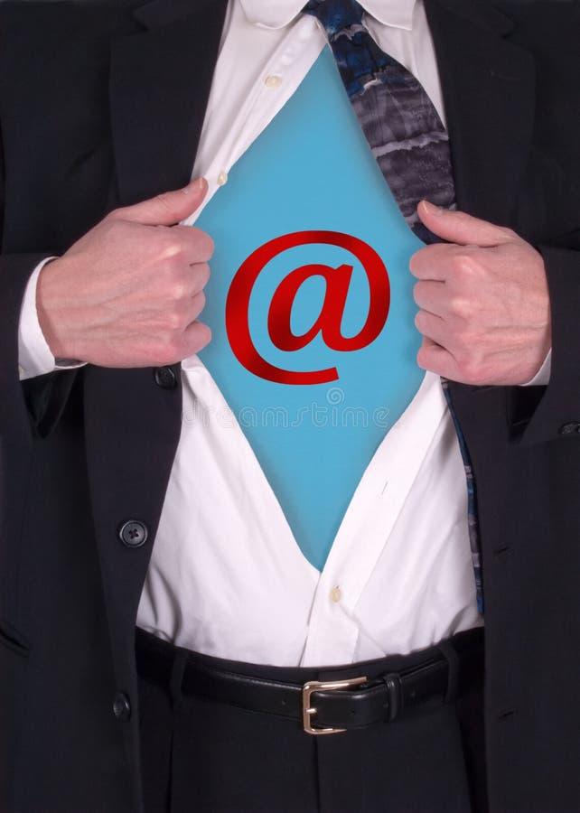 企业商务互联网在线次幂 库存图片